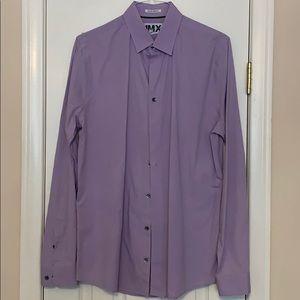 Extra slim fit tall/ long dress shirt